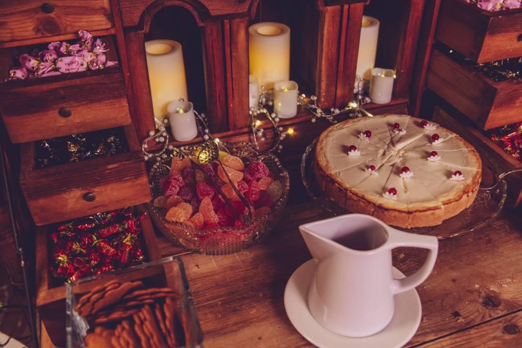 Katajanoka Kasinon joulupöydän jälkiruoka
